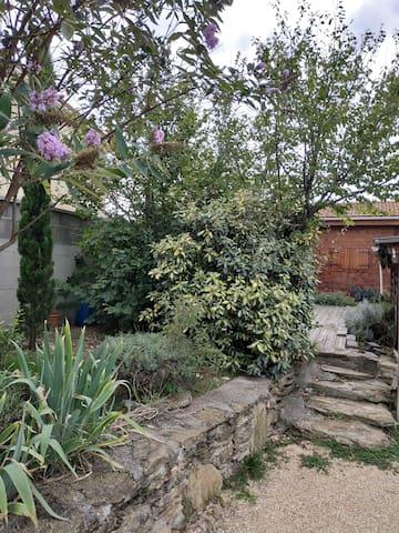 Les jardins en terrasse!