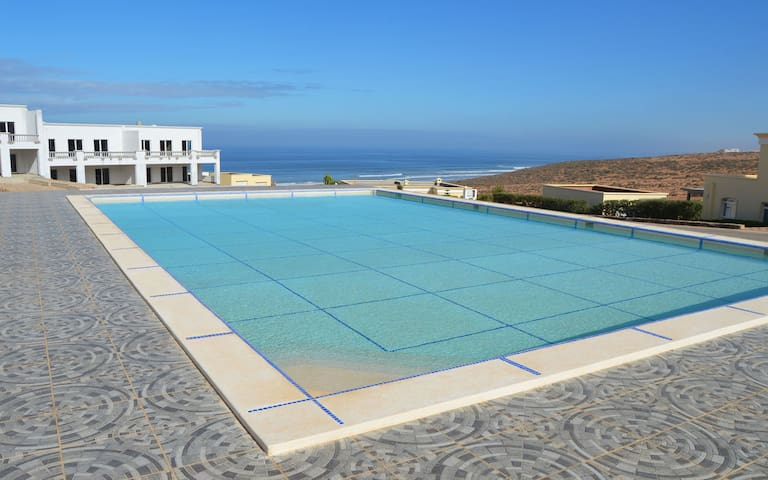 Spacious apartment Ocean View & Pool @ Aglou Beach - Tiznit - Appartement