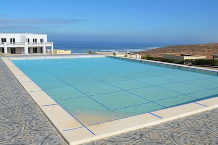 Spacious apartment Ocean View & Pool @ Aglou Beach