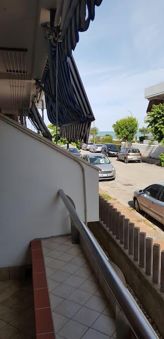 Veduta da terrazzo