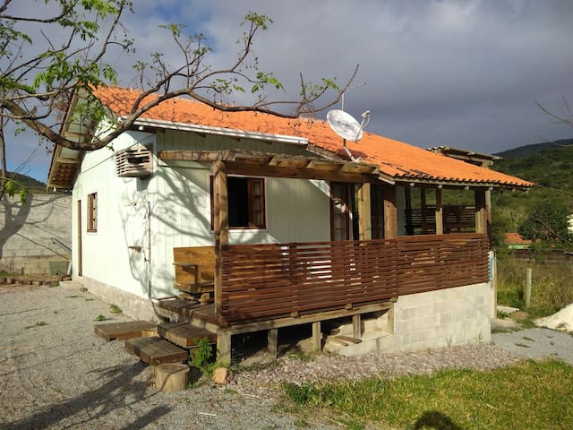 Casa em Garopaba bem arejada,  e ótima claridade
