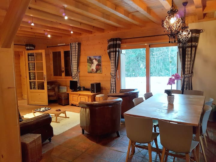 Chalet L'Isiere in the heart of Portes du Soleil