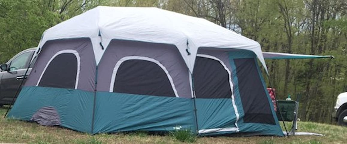 Land Between the Lakes Tent rental