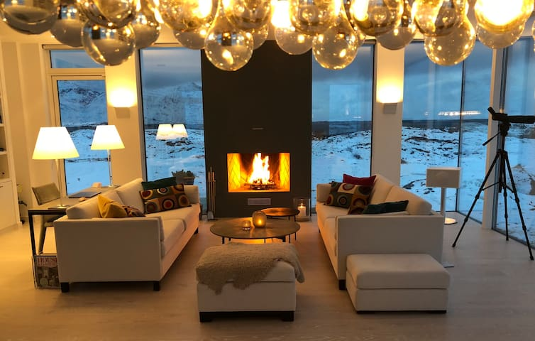 Luxury Oceanfront B&B in Lofoten