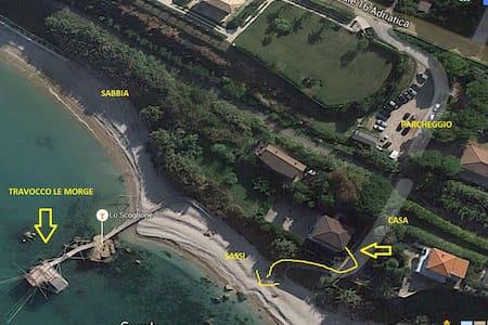 Esclusiva casa sul mare nella costa dei Trabocchi - Provincia di Chieti