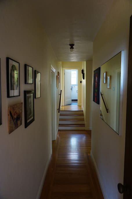 Hallway view from entrance