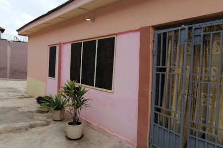 A friendly home to stay in kumasi as one family