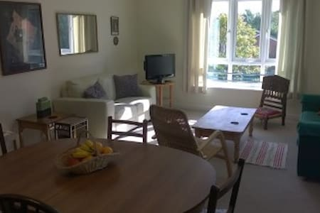 comfort. room in friendly modern flat- 20 m.London - Hersham