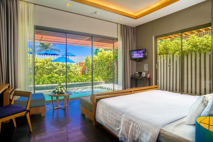 Synergy private poolvilla step chaweng beach Samui