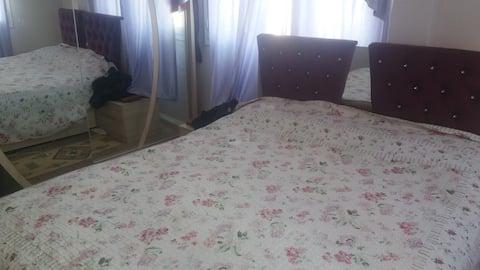 temiz özel oda