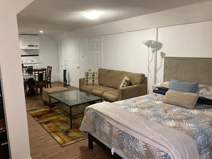 Beautiful Furnished Basement Apartment