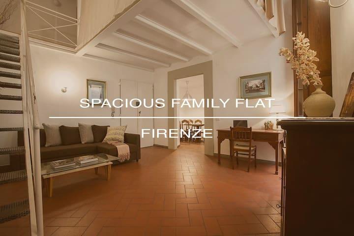 Spacious Family Flat Ponte Vecchio 2 Bed 2 Bath - Firenze - Apartment