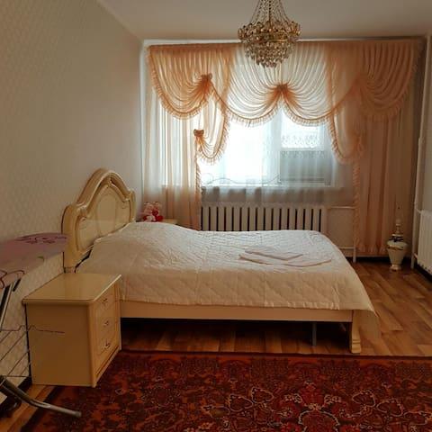 Уютная трехкомнатная квартира - Астана - Квартира