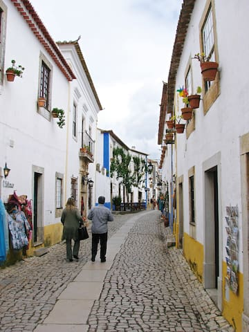 Historic Obidos is nearby