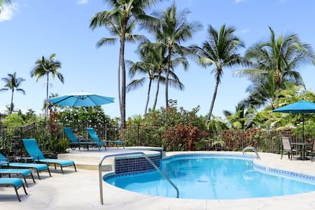 Keauhou Poolside - Walk to Harbor/Shopping Center!