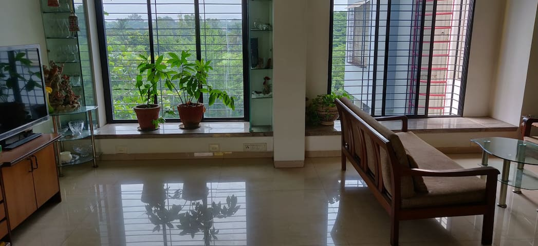 2BHK Full Apartment with Plenty of Greenery