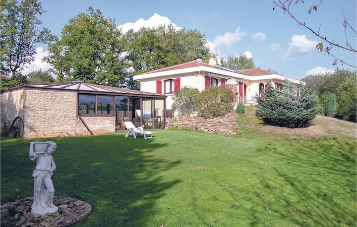 Awesome home in Le Champ St. Pere with Sauna, WiFi and 3 Bedrooms