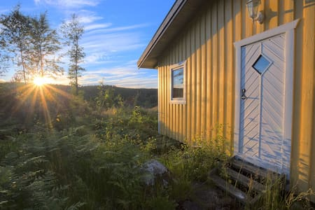 A little yellow house near lakes and forests - Kungsbacka Ö - Rumah