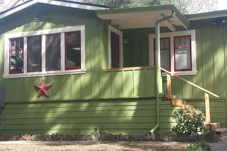 Sunny 2 Bedroom Cottage in Santa Cruz Mountains - 本洛蒙德(Ben Lomond) - 独立屋