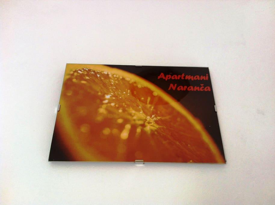 Apt Naranča / Orange