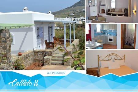 """""""Callisto 3"""" House in Paros island - Marpissa - Dom"""