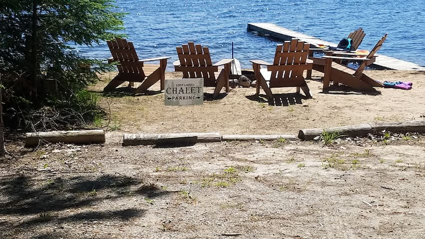 LOST LAKE CHALET (Hawks, MI): Just listed! Visit Northern Michigan