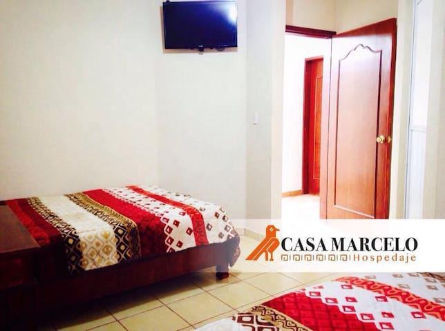 Hotel Casa Marcelo Hab#2 (Doble para 4 Personas)