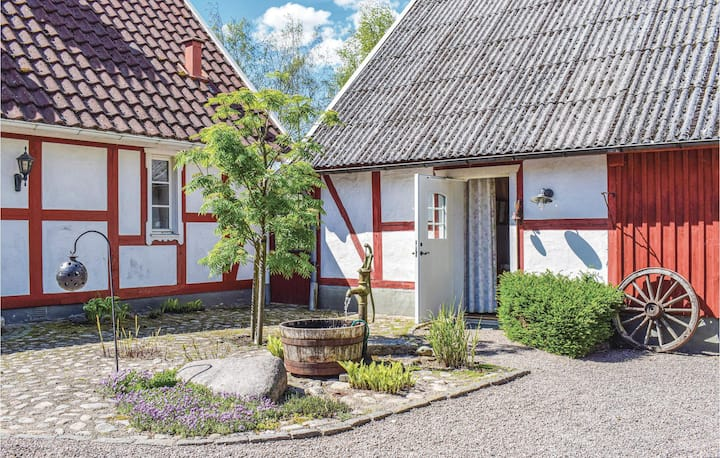 Amazing home in Ängelholm with WiFi and 1 Bedrooms