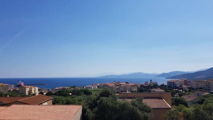 Magnifique appartement, vue mer et montagne