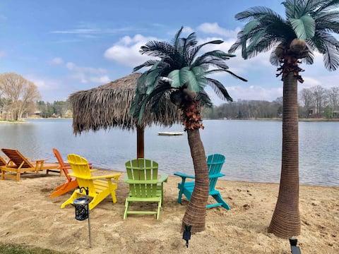 Blue Lake Paradise w/Freaky Tiki Bar