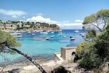 Playa de Porta Vells  10 miutos a pies