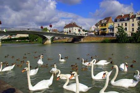 Appart chaleureux en bord de Marne! - Thorigny-sur-Marne