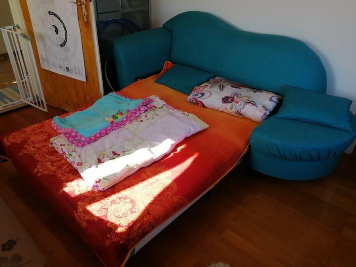 Blau Grünes Sofa