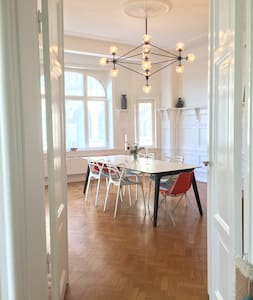 Spacious and elegant living in central of Malmö - Malmö - Wohnung