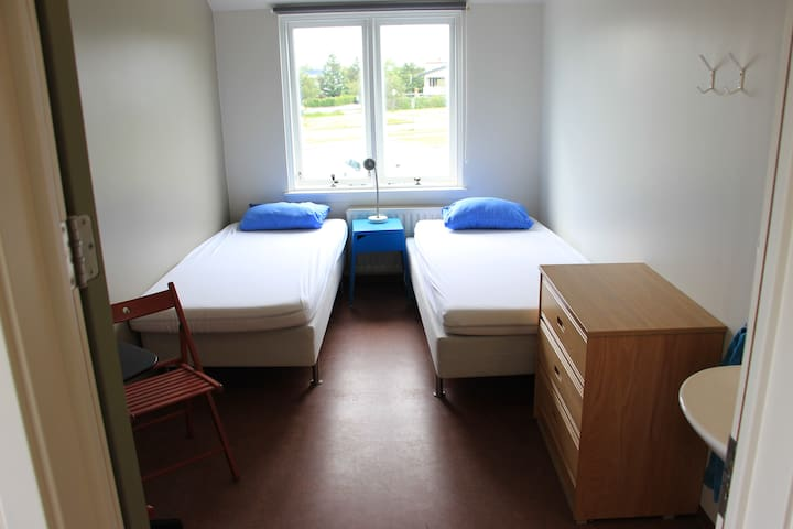 A Twin room in Lava Hostel