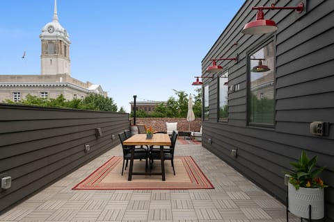 Luxury Loft Downtown Columbia with Rooftop Terrace