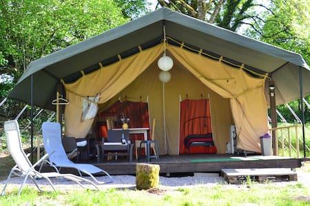 Location Safari Lodge Tent Ambiance Morvan - Ouroux-en-Morvan