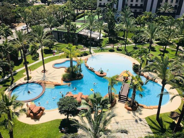 Magnífico apartamento campo de golf playa San Juan