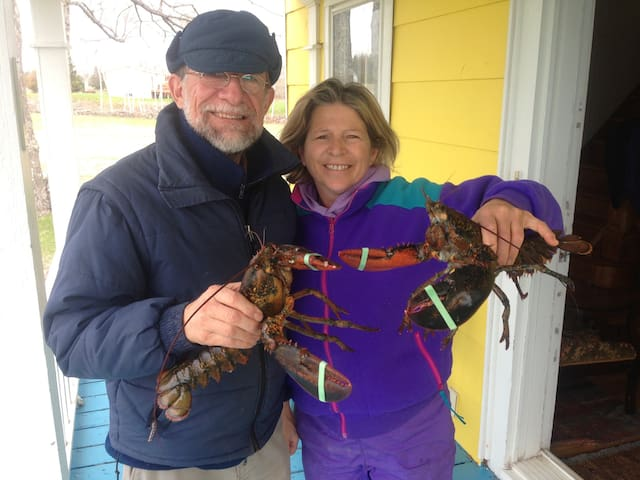 Maurice et Linda , vos hôtes