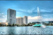 Heart of downtown Lake Eola Historic House 1-2 bed