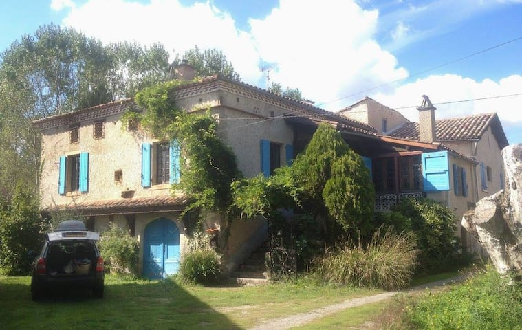 herenhuis met riante tuin - Le Riols - Casa