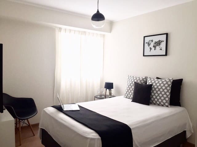 Room in premiere apartment + gym