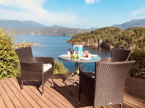 Fantastisk plass ved fjord&fjell!