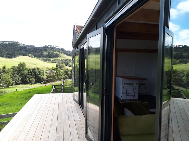 Deck and country views