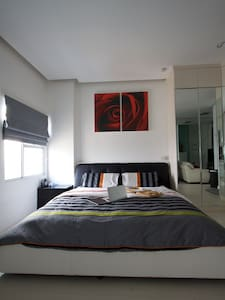 Modern spacious studio apartment in West Jakarta