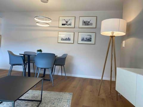 Modern & new flat near Echternach