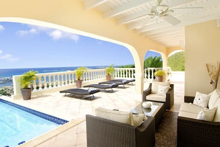Villa Vista - Ideal for Couples and Families, Beautiful Pool and Beach - Cole Bay - Villa
