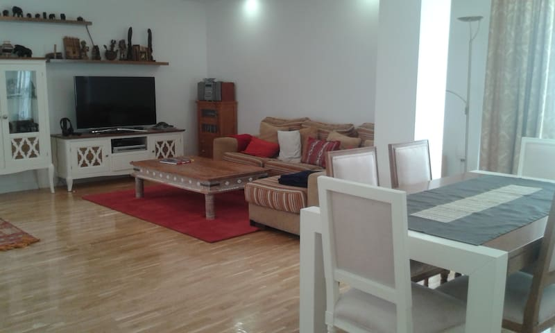 2 bright rooms in cosy apartment! - Madrid - Apartamento