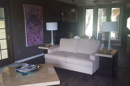 Private entrance room w lake view - Fort Worth - Ev