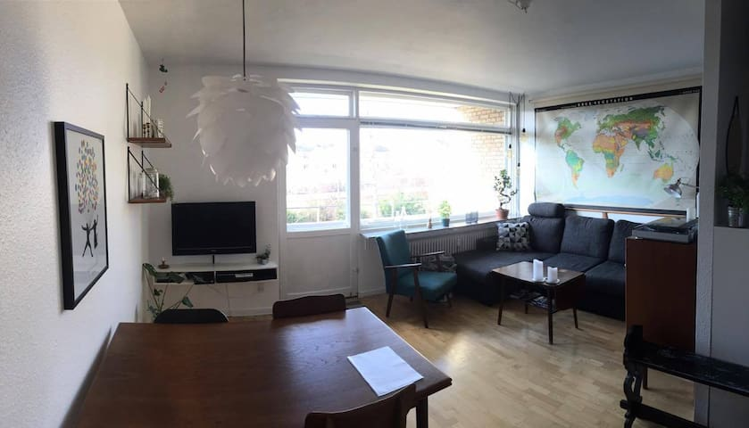 Nice apartment with 1.5 rooms (and a balcony!) - Gentofte - Flat